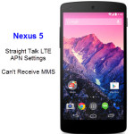 Straight Talk LTE Apn Settings Nexus 5