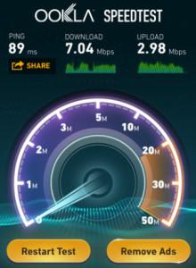 Straight Talk APN Settings iPhone 5 LTE Speed Test